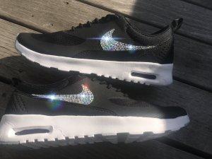 Nike Sneaker alta nero-bianco
