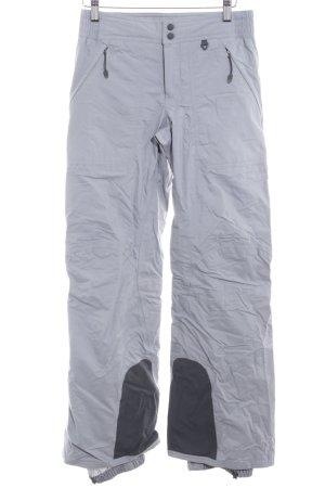 Nike Pantalon thermique gris-rouge style athlétique