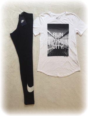 Nike tight, Leggings mit Logo am Bein, schwarz, neu mit Etikett #nike