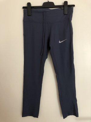 Nike Pantalon de sport bleu acier-gris foncé