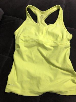 Nike Sporttop geel-neongeel