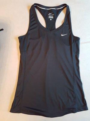 Nike Top Dry Fit Gr. S / schwarz - Stretch