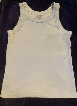 Nike Sports Shirt azure cotton