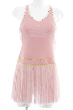 Nike Trägerkleid rosa-goldfarben sportlicher Stil