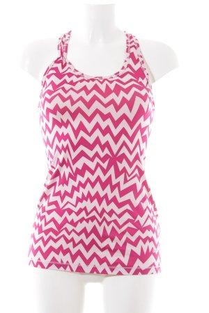 Nike Trägertop pink-creme Allover-Druck schlichter Stil