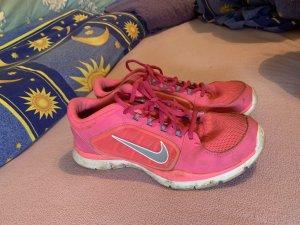 Nike Sneaker stringata rosa-argento