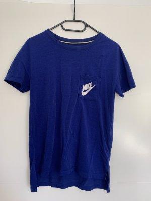 Nike Sports Shirt blue-white