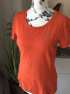 Nike Tshirt Dri Fit orange Gr.S neuwertig
