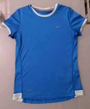 Nike Tshirt Shirt Top Dri-Fit Gr. 146 - 156 XS 34 blau