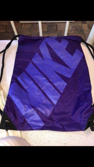 Nike Sports Bag brown violet-dark violet