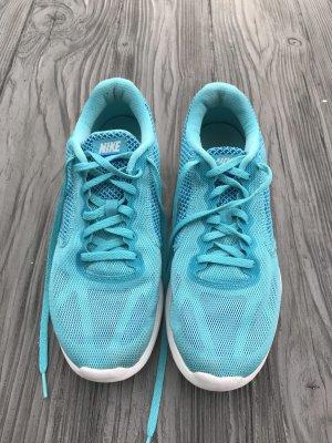 Nike Turnschuhe Gr 40,5 türkis