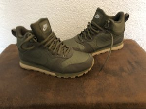 Nike Lace Shoes khaki-olive green