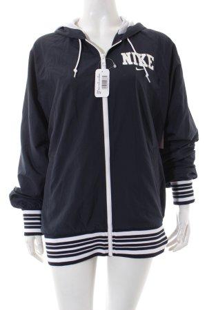 Nike Overgangsjack donkerblauw atletische stijl