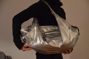Nike Victory Gym Tote Bag Neu mit Etikett silber