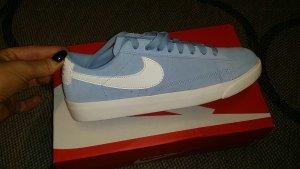 Nike W Blazer Low SD blau hellblau Jeansblau sneaker Größe 38,5