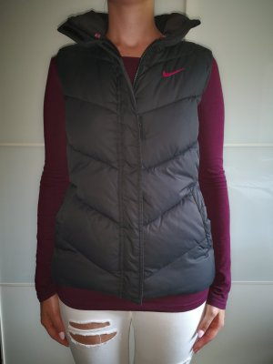 Nike Down Vest black-magenta polyester