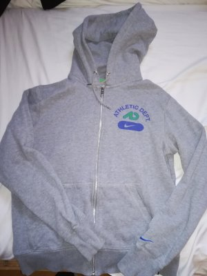Nike Hooded Vest grey