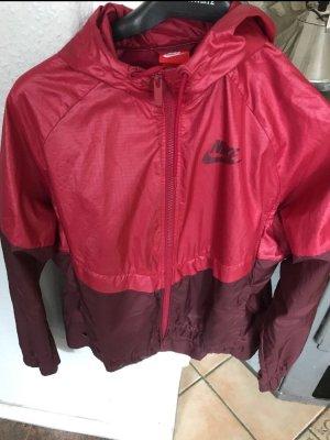 Nike Sportjack rood-donkerrood
