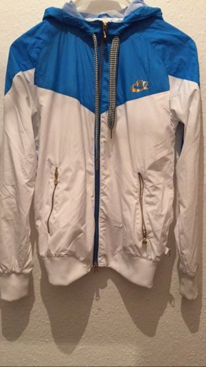 Nike windbreaker blau weiß Gold