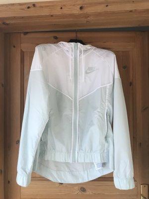 Nike Giacca sport bianco-turchese
