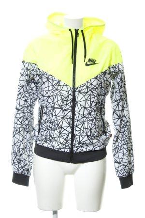 Nike Windjack abstract patroon atletische stijl