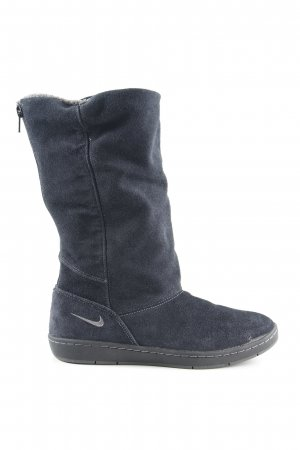 Nike Winterstiefel dunkelblau-anthrazit schlichter Stil
