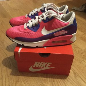 "Nike WMNS AIR MAX 90 ""Hyperfuse"" Pink Flash in 40,5 ausverkaufte Limited Edition"