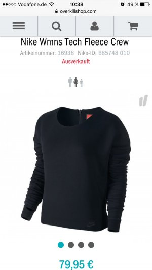 Nike Wmns Tech Fleece Crew