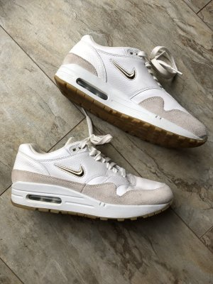 NIKE WMS AIR MAX 1 Premium SC (summit white / metallic gold star / light bone) 38,5