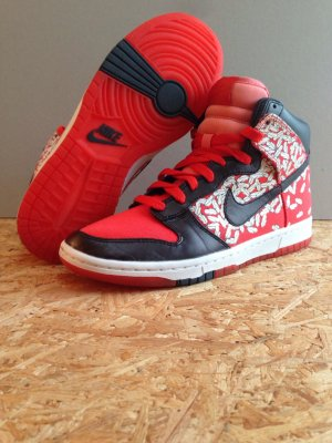 Nike Womens Dunk High Skinny – Paule Marrot Feathers