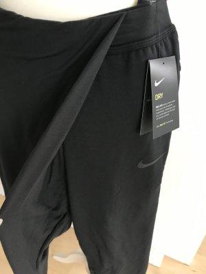 Nike Yoga Hise Haremshose XS 34 schwarz Trainingshose NEU
