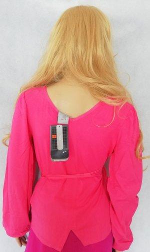 Nike Yoga Shirt Funktionsshirt Gr. XS Neu mit Etikett pink