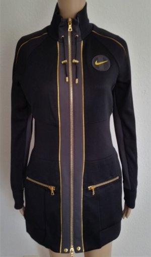 Nike Giacca lunga nero-grigio