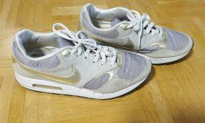 Nike Zapatilla brogue color plata-color oro