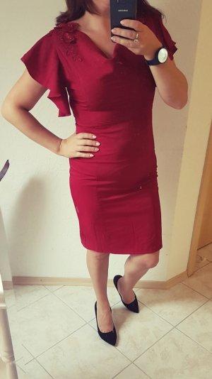 Nikibiki Abendkleid Spitze rot 38