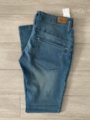 Nikita Jeans cigarette bleu coton