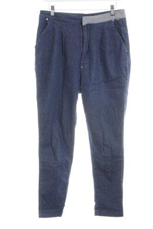 Nikita Karottenhose blau Jeans-Optik