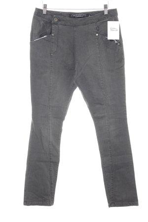 Nikita Straight-Leg Jeans grau schlichter Stil