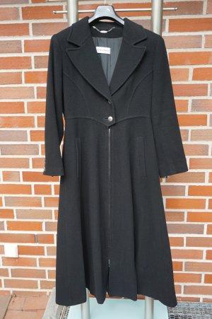 Nicowa Manteau long noir cachemire