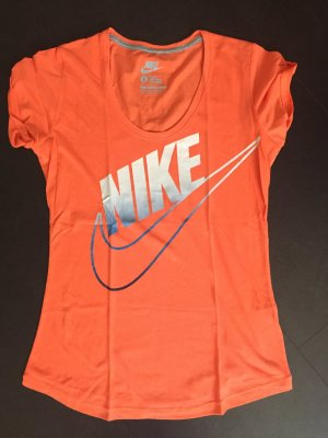 Niks Sport T-Shirt orange Größe S