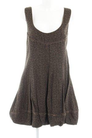 Nile A-Linien Kleid braun-schwarzbraun Blumenmuster Casual-Look