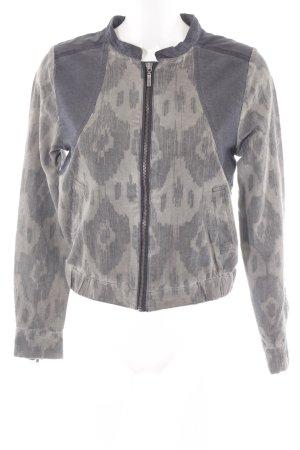 NILE atelier Blouson marrone-grigio-antracite stile casual
