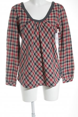 NILE atelier Schlupf-Bluse Karomuster Casual-Look