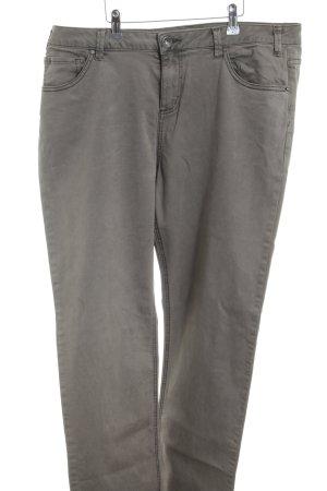Nile Pantalone cinque tasche grigio chiaro stile semplice
