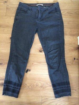 NILE atelier Five-Pocket Trousers black