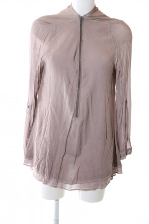 Nile Langarm-Bluse pink Casual-Look