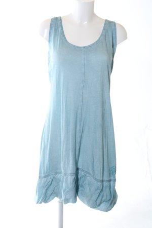 Nile Stretchkleid blau schlichter Stil