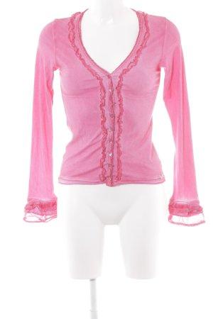 Nile Sweatshirt himbeerrot Batikmuster Gypsy-Look