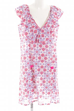 Nimo Minikleid grafisches Muster Casual-Look