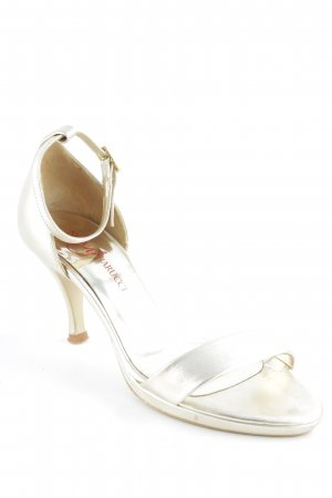Nina Fiarucci High Heel Sandal gold-colored elegant